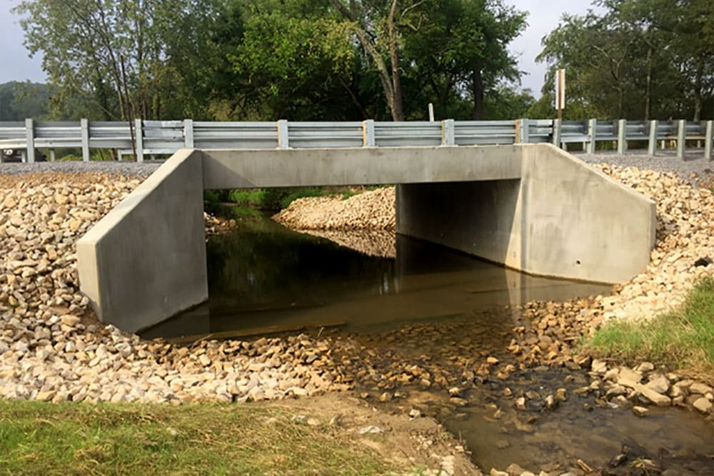 featured project bethel church road culvert replacement